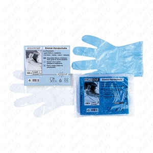 Bild für Kategorie Polyäthylen Handschuh